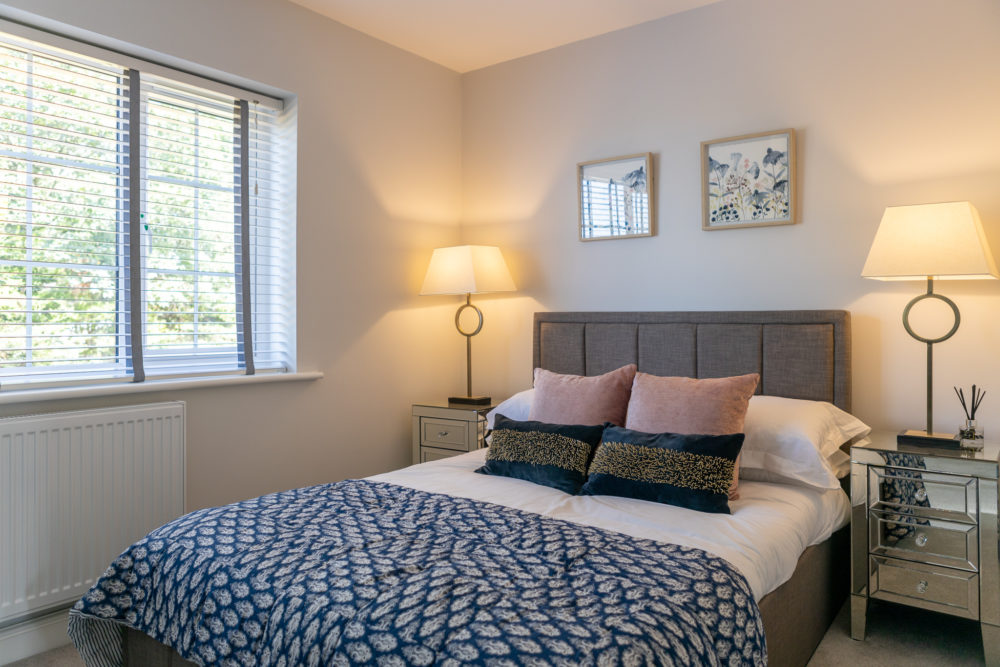 Master Bedroom at The Paddock in Helsby